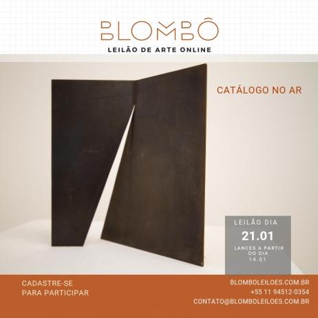 7º Leilão Blombô e continuação ANIMA/Galeria Luisa Strina  21/01 - segunda-feira - às 20:00 Hrs